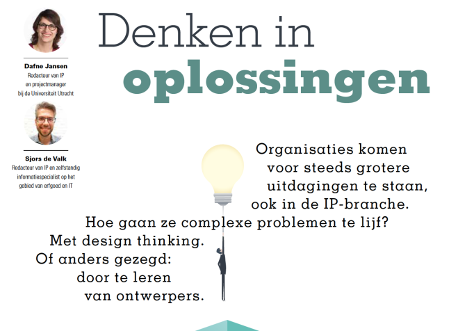 Interview Design Thinking in IP - I
